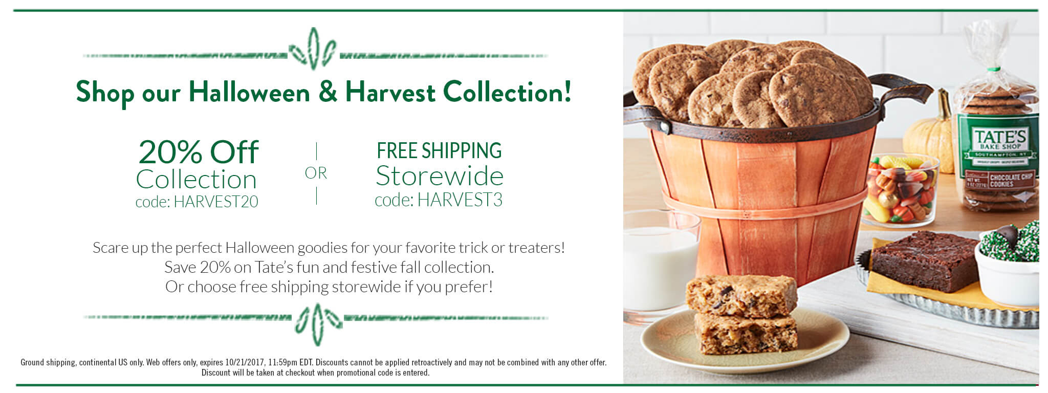 shop our halloween & harvest collection and save 20%!