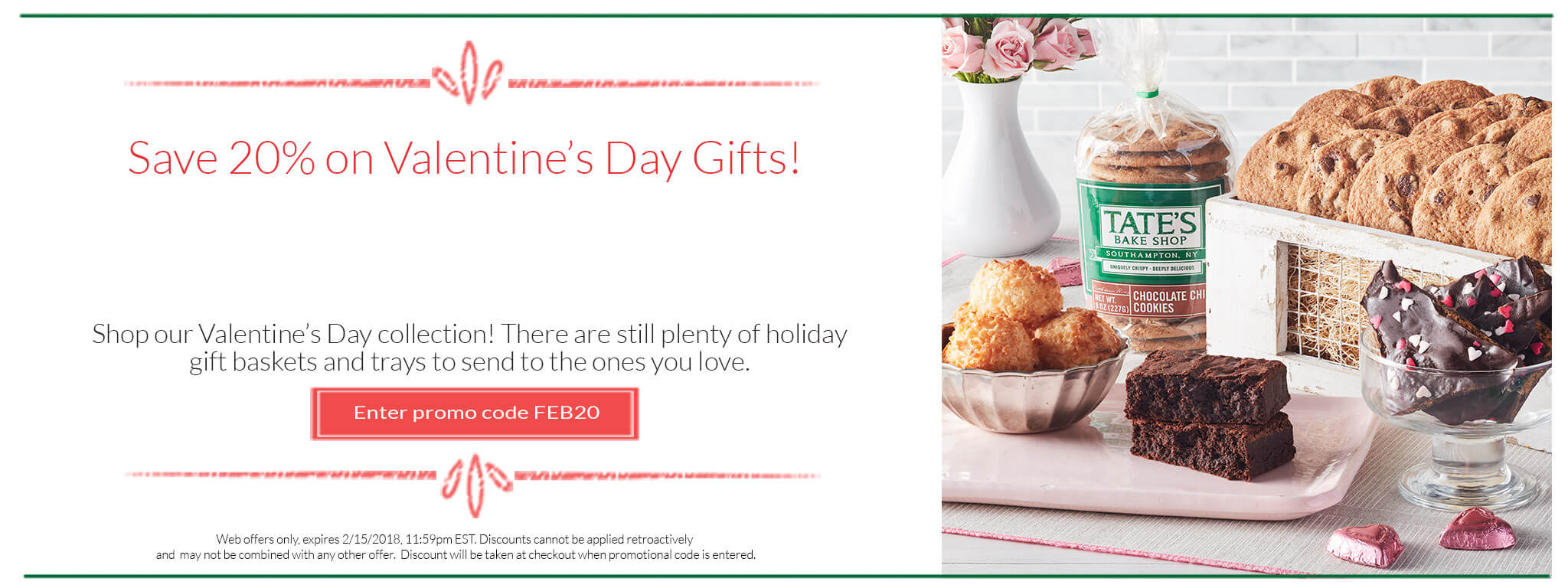 Save 20% on Valentine's Day Gifts