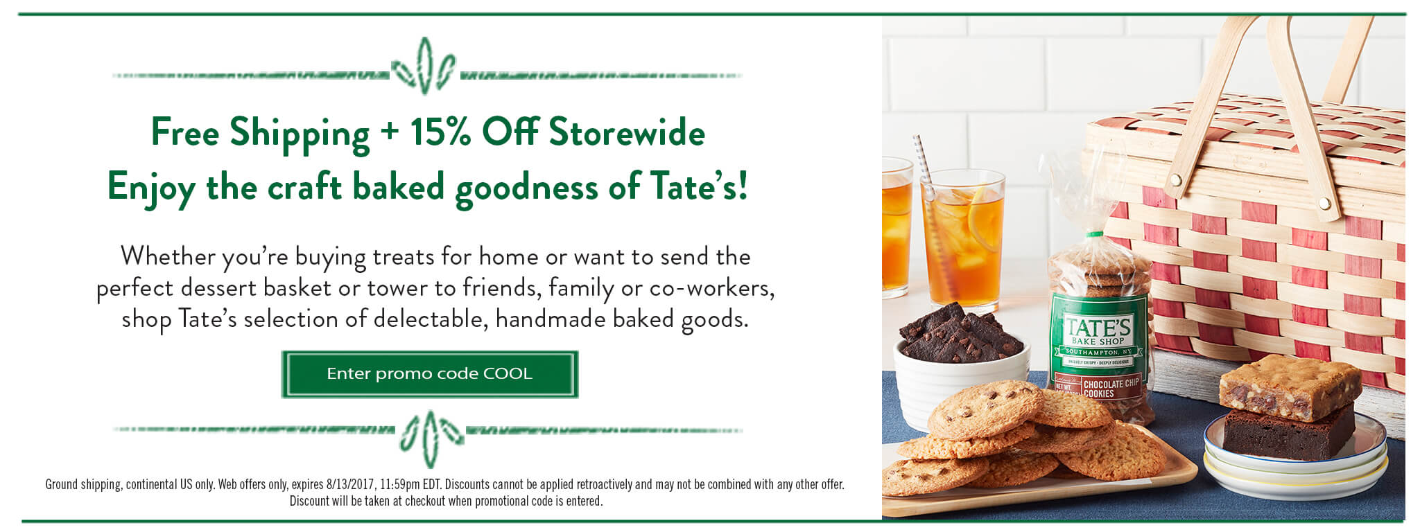 Free Shipping + 15% Off on Sweet Summer Baskets!