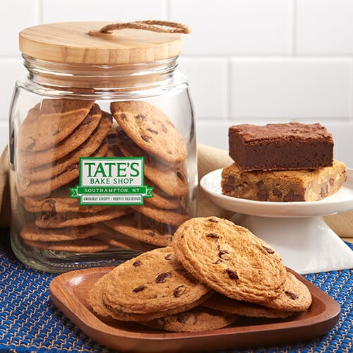 Tate's Cookies and Bars Jar