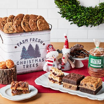 Old Fashioned Holiday Tin