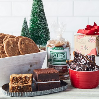 Gift baskets and cookies tates bakeshop gifts gluten free white christmas negle Choice Image