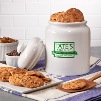 Tate's Bake Shop Ceramic Cookie Jar