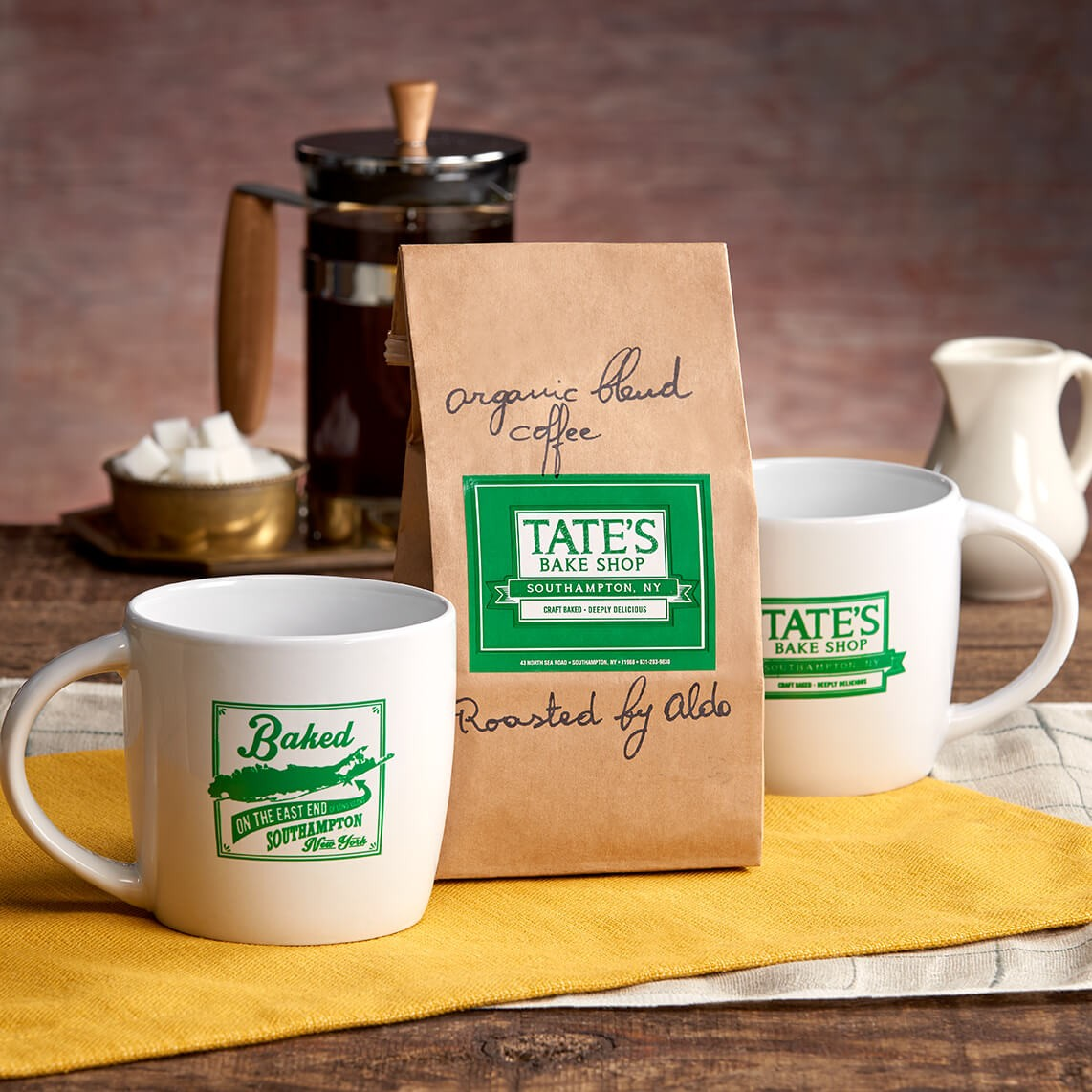 Tate's Bake Shop Brew for Two