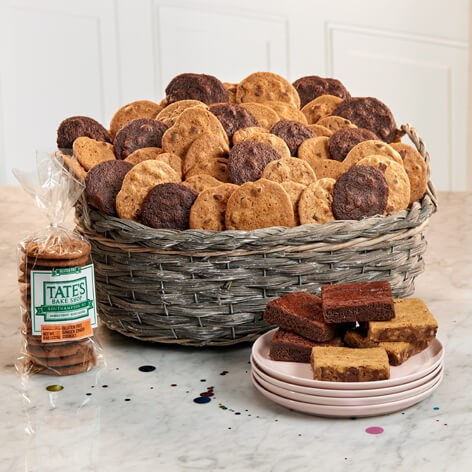 Gluten free sampler basket tates bake shop its your special day gluten free deluxe negle Gallery