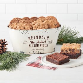 Gluten Free Reindeer Games Small Holiday Gift Tin